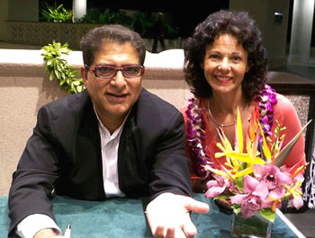 Deepak Chopra & Barbara Pellegrino January 2008
